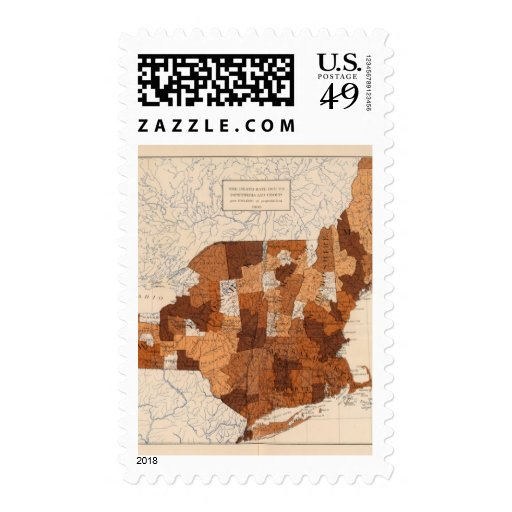 105 Diphtheria, croup NY, NJ, New England Postage