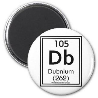 105 Dubnium 2 Inch Round Magnet