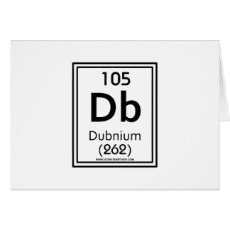 105 Dubnium Card