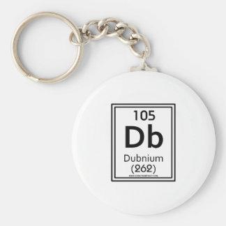105 Dubnium Keychain