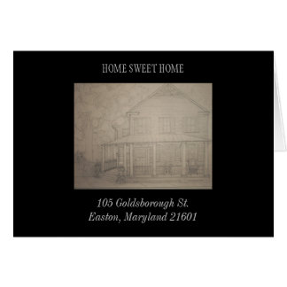 105 Goldsborough Street. Card
