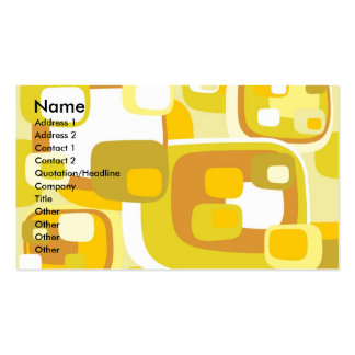 105 , Name, Address 1, Address 2, Contact 1, Co... Double-Sided Standard Business Cards (Pack Of 100)