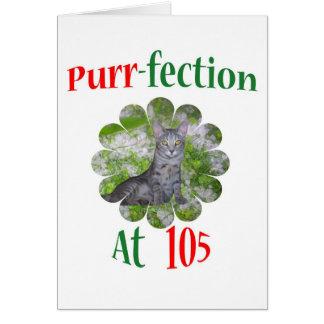 105 Purr-fection Card