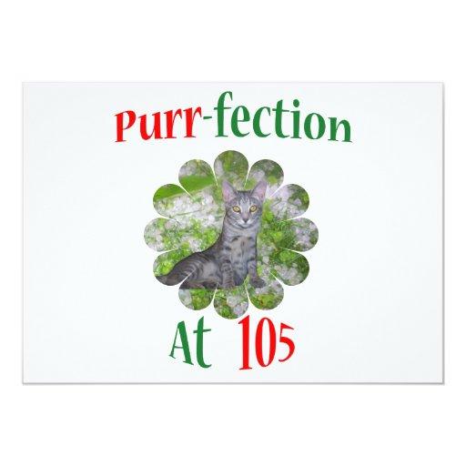 105  Purr-fection Personalized Invite