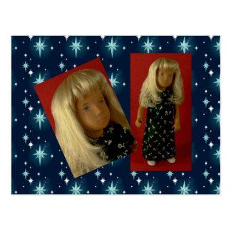 105 Sasha Long Dress postcard