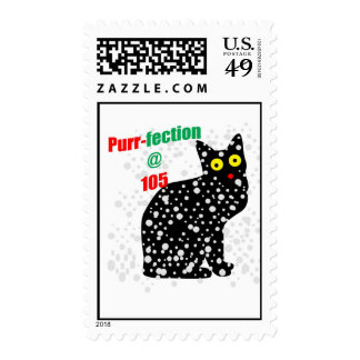 105 Snow Cat Purr-fection Stamps