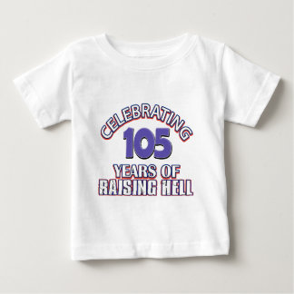 105 year old designs baby T-Shirt