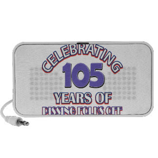 105 years of raising hell portable speaker