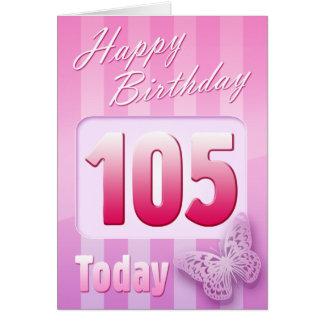 105a Grande-Tía feliz Mom de la abuela del Tarjeta De Felicitación