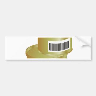 105Canned Food _rasterized Bumper Sticker
