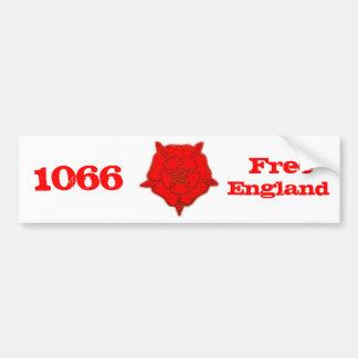 1066 - Free England Bumper Sticker