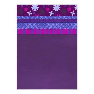 1066 PURPLE BLUE HOT PINK BACKGROUNDS STRIPES SOLI CARD