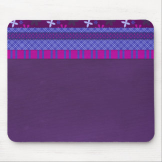 1066 PURPLE BLUE HOT PINK BACKGROUNDS STRIPES SOLI MOUSE PADS