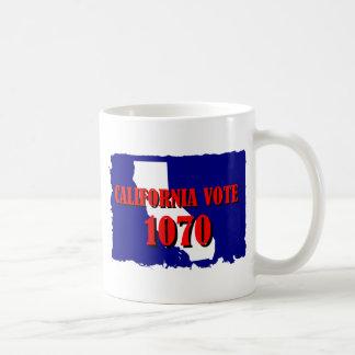 1070 CALIFORNIA COFFEE MUG