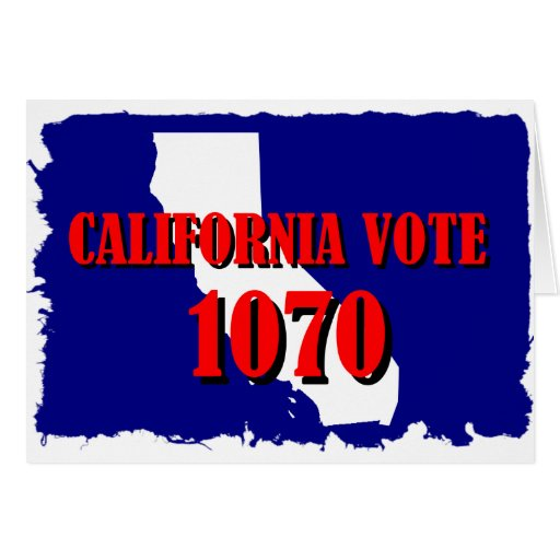 1070 CALIFORNIA GREETING CARD