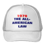 1070 THE ALL-AMERICAN LAW MESH HAT