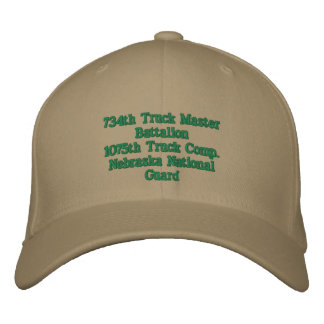 1075th Truck Company Embroidered Baseball Hat