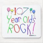 ¡107 años de la roca! alfombrillas de raton