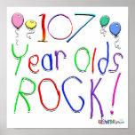 ¡107 años de la roca! impresiones