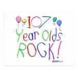 ¡107 años de la roca! postal