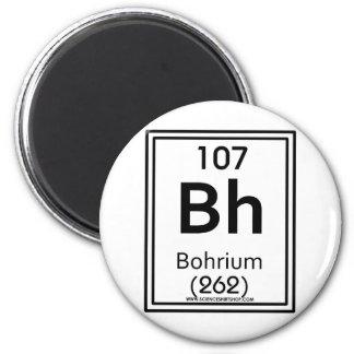 107 Bohrium Imán Redondo 5 Cm