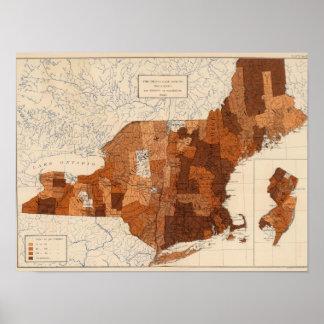 107 Influenza NY, NJ, New England Poster
