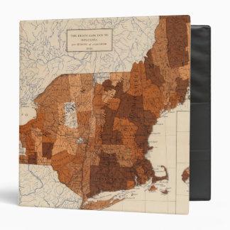 107 Influenza NY, NJ, New England Vinyl Binders