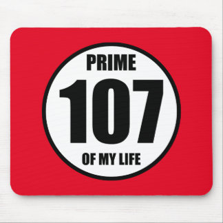 107 - prime of my life mouse pad