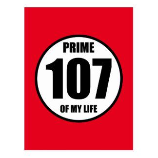107 - prime of my life postcard