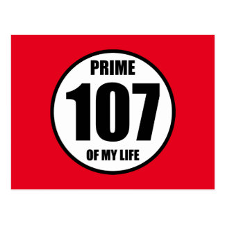 107 - prime of my life postcard