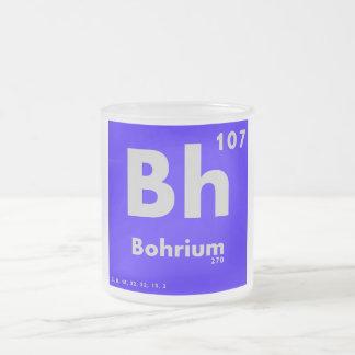107 tabla periódica de Bohrium   de elementos Taza De Cristal