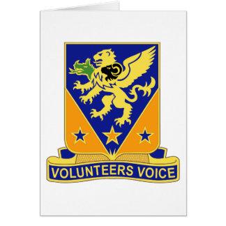 107o Regimiento de la aviación Tarjeta De Felicitación