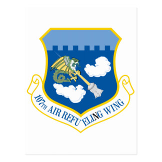 107th Air Fefueling Wing Postcard