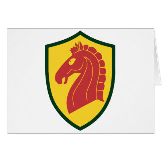 107th Armored Cavalry Card