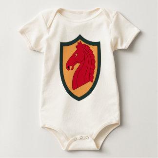 107th Armored Cavalry Regiment Baby Bodysuit