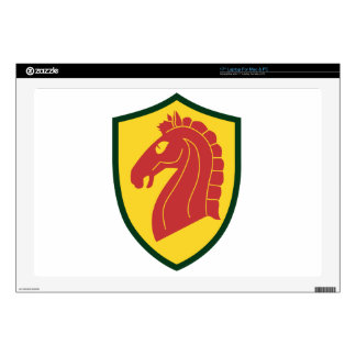 """107th Armored Cavalry 17"""" Laptop Skin"""