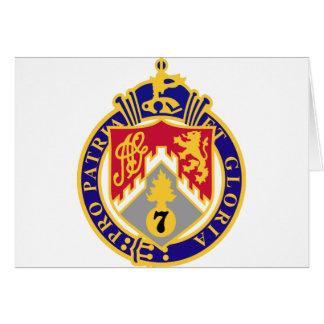 107th Infantry Regiment Card
