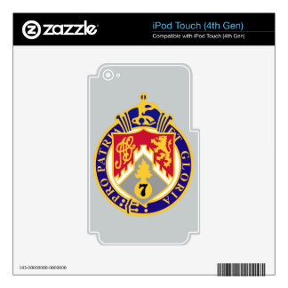 107th Infantry Regiment iPod Touch 4G Decal