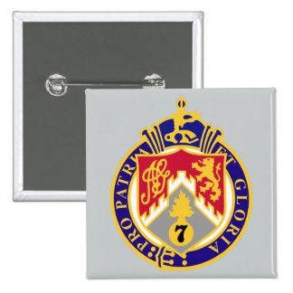 107th Infantry Regiment Pinback Button