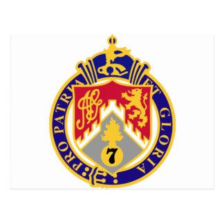 107th Infantry Regiment Postcard