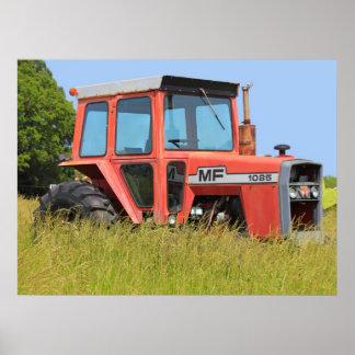 1085 Massey Ferguson Parked In A Field Print