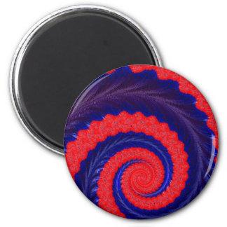 108-12 blue & red spiral magnet