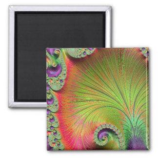 108-66 yellow & orange petals magnet