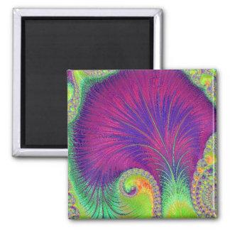 108-67 purple petals magnet