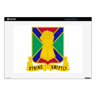 "108 Armor Regiment 15"" Laptop Decal"