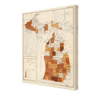 108 Influenza Michigan Canvas Print