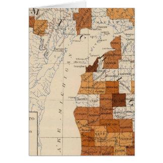 108 Influenza Michigan Greeting Card