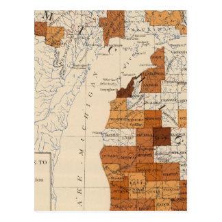 108 Influenza Michigan Postcard