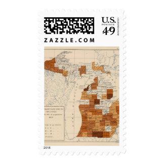 108 Influenza Michigan Stamps