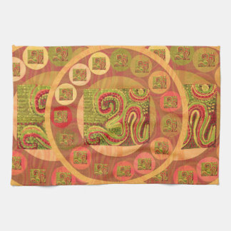 108 OM MANTRA HAND TOWELS